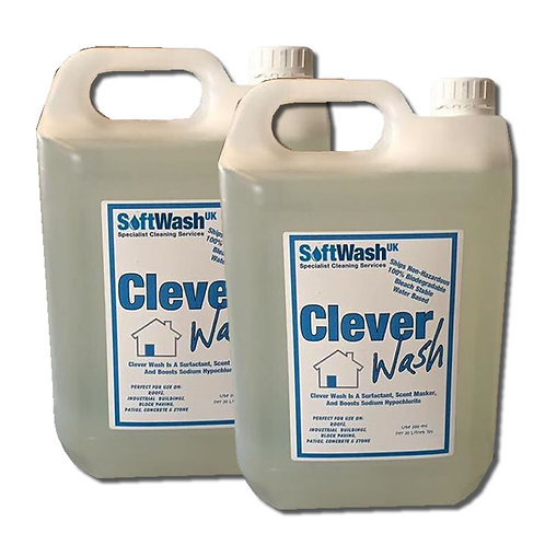 Clever Wash Surfactant, Scent Masker, Wax Rinse Aid and Also Boosts Sodium Hypo