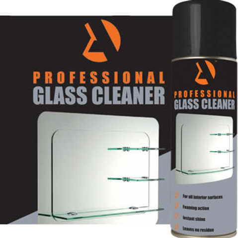 GLASS CLEANER - For all interior surfaces