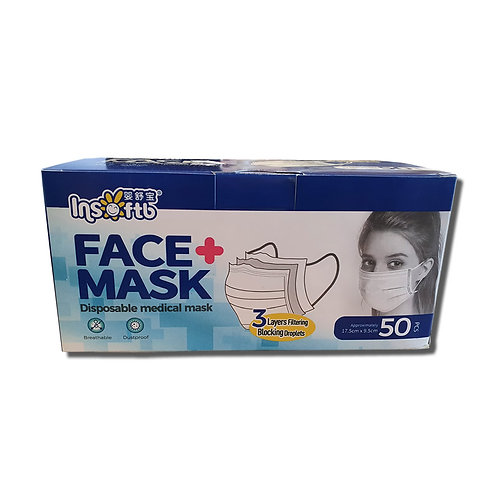 3 Layer Mask Type II R EN14683 (50 PACK)