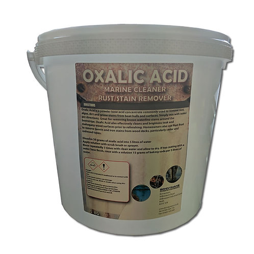 Oxalic Acid - Rust Remover Hull Deck Cleaner