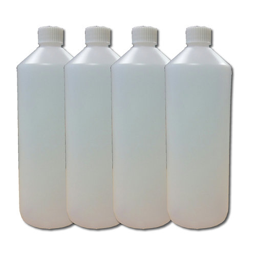 1 Litre HDPE Chemical Resistant Bottles