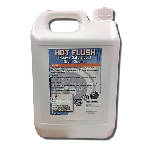 Hot Flush - Powerful Sink and Drain Cleaner