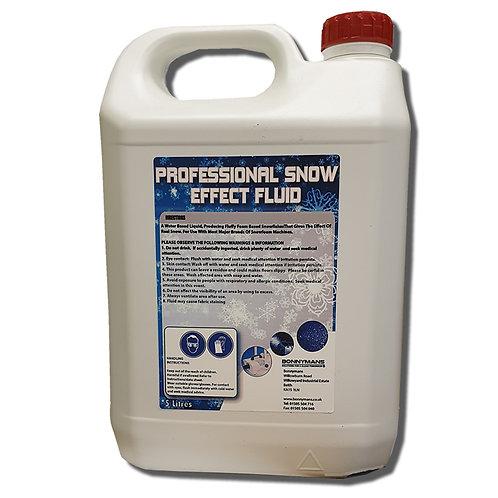 Professional Snow Effect Fluid/Foam Party