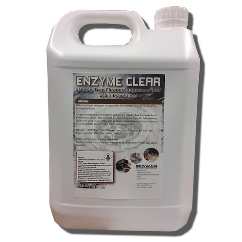 Enzyme Clear - Drain Cleaning & Clearing