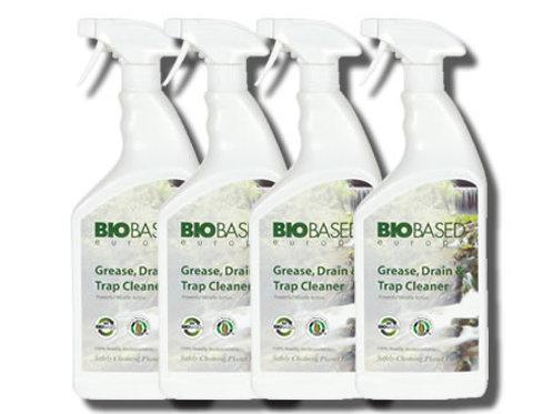 100% Bio Friendly Grease Trap & Drain Cleaner