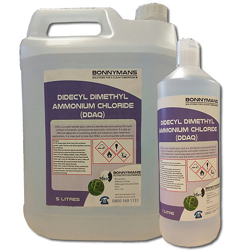 Biocide - Softwash Biocide - Didecyl Dimethyl Ammonium Chloride (DDAC) 50%