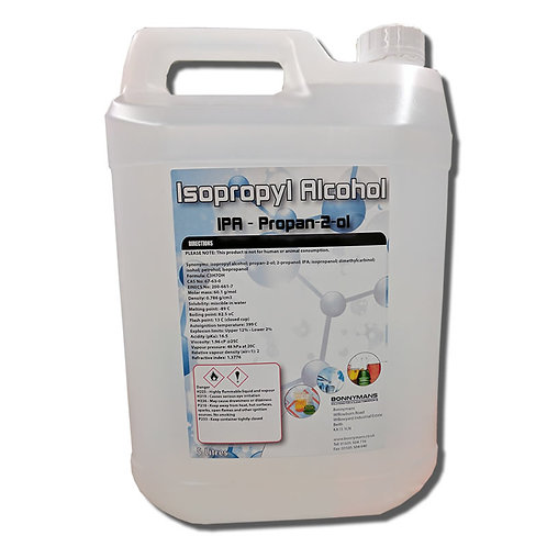 Isopropyl Alcohol | IPA | Isopropanol | Rubbing Alcohol