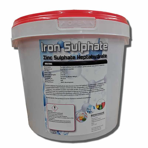 Iron Sulphate - Iron Sulfate - Ferrous Sulphate 99%