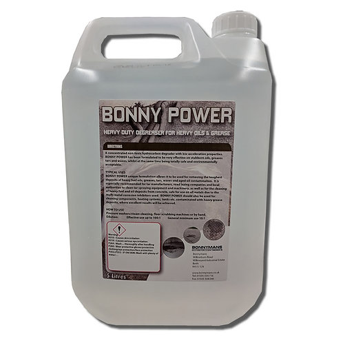 Bonny Power - – Removes Stubborn Oils, Greases, Tars & Wax Stains – OIL REMOVER