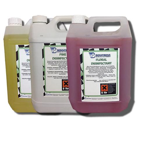 General Purpose Disinfectant - Pine - Lemon - Floral