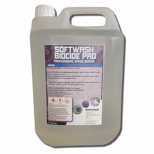 Softwash Biocide Pro - DDAC Based Professional Grade Biocide