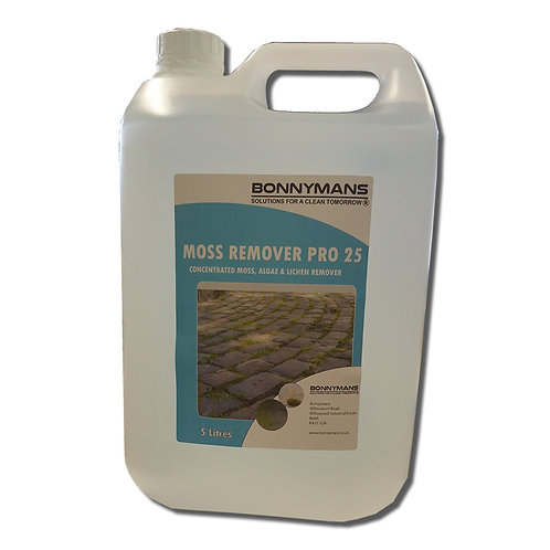 Moss Remover Pro 25 - Ultra Concentrated - 650 square metres