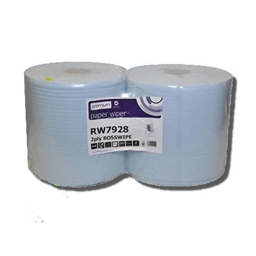 Boss Wipe - 2 Ply - Twin Pack