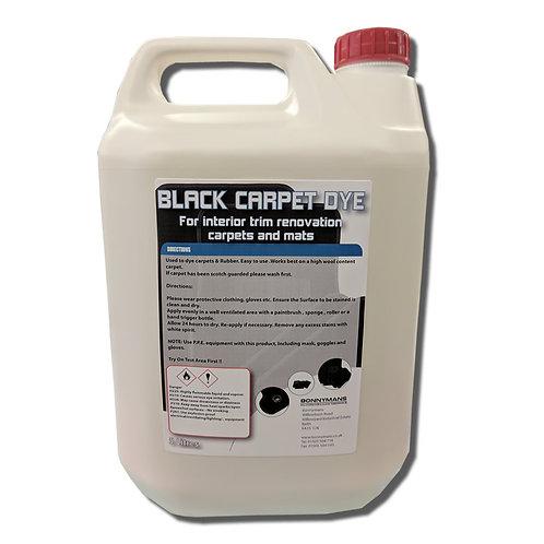 Black Carpet Dye
