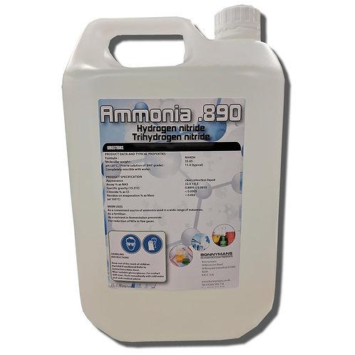 Ammonia .890 sg