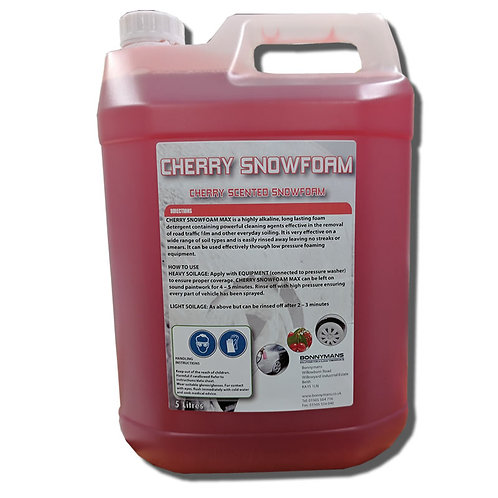 Non Caustic - Paint Safe - Cherry Snowfoam