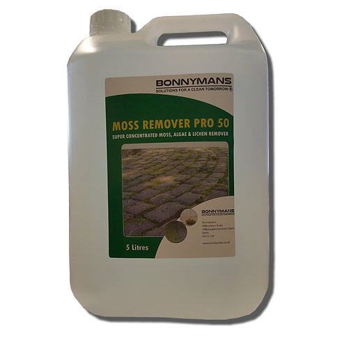 Moss Remover Pro 50 - Super Concentrated - 1300 Square Metres