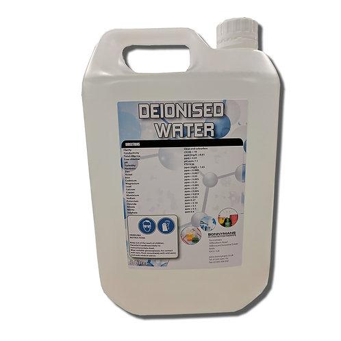 Deionised (De-Ionized) Water