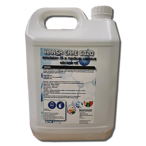 Hansa Care 6820 - Emulsion of a medium viscose polydimethylsiloxane