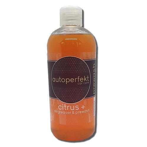 Citrus + degreaser & prewash