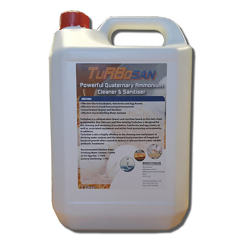 TurboSan - Quaternary Ammonium Cleaner and Sanitiser