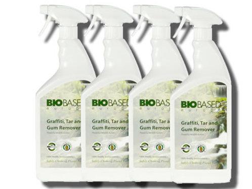 100% Bio Friendly - Graffiti Tar & Gum Remover - Safe To Use