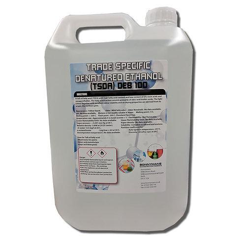 Denatured Ethanol B100 - TSDA or Trade Specific Denatured Alcohol)
