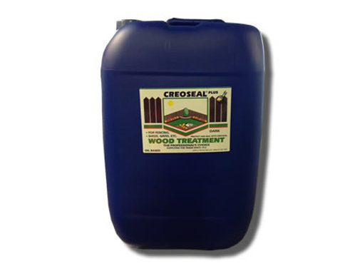 Creoseal - Creosote substitute - Oil based wood preserver