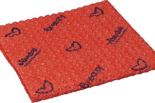 Vileda Breazy Microfibre Cloth Wave Red (Pack of 25)