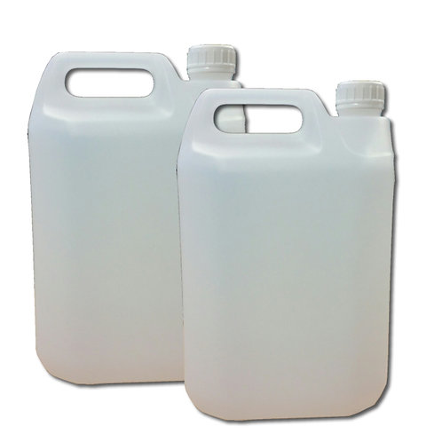 5 Litre HDPE White Jerry Can