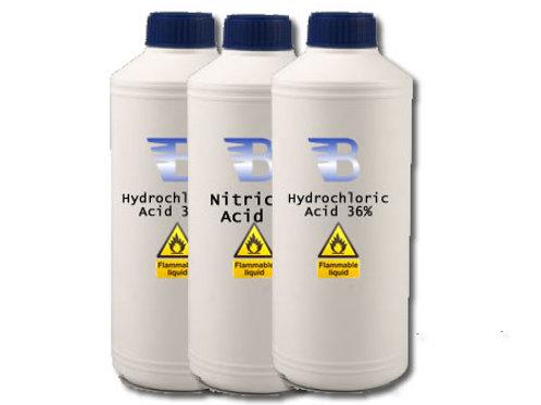 Aqua Regia - Hydrochloric Acid & Nitric Acid Combo