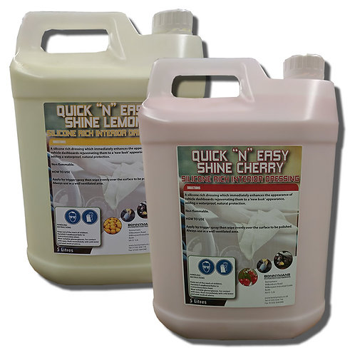 QUICK N EASY SHINE Dashboard Silicone Dressing (cherry or lemon scent)