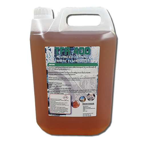 TFR 400 (BAC) - BIOCIDAL TRAFFIC FILM REMOVER
