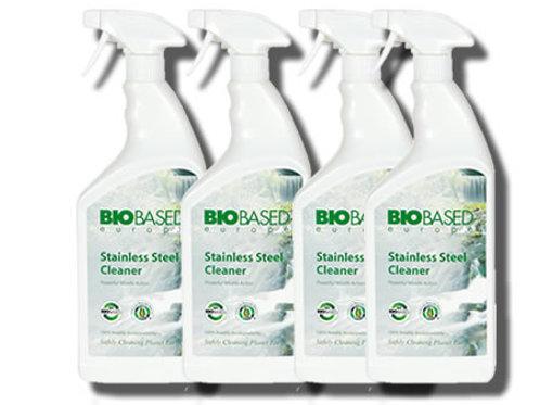 Bio Friendly Stainless Steel Cleaner