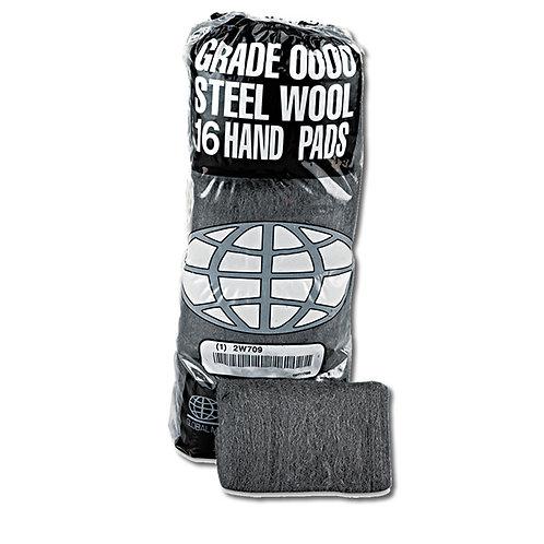 Steel Wool Hand Pads - 16 Pack