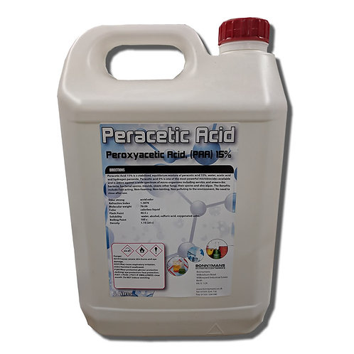 Peracetic Acid, Peroxyacetic Acid, (PAA) 15%