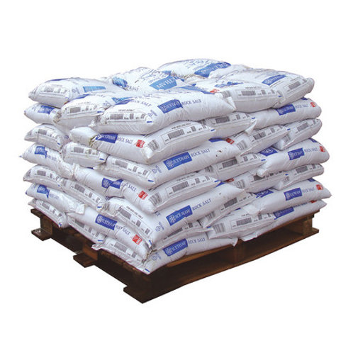 Pallet - Pure White Rock Salt - 40 x 25kg Bags