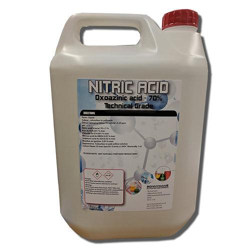 Nitric Acid - Oxoazinic acid - 70% Technical Grade