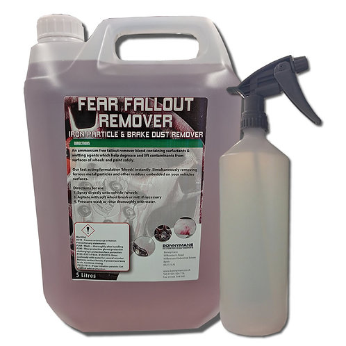 Fear Fallout Remover - Iron Particle & Brake Dust Remover