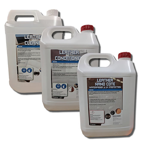 Leather Bumper Pack - Complete Cleaning, Conditioning and Protection