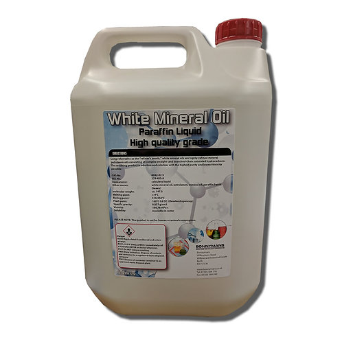 Clear White Mineral Oil - Liquid Paraffin
