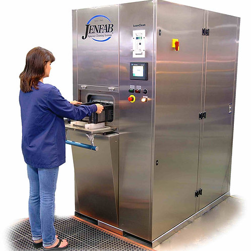 Lean-Clean 360-1 - Single Basket Rotary Industrial Parts Washer