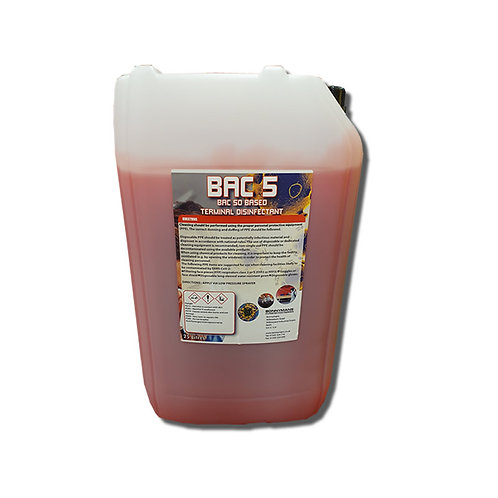 COVID 19 - BAC BASED DISINFECTANT ( APPROVED FOR BS EN 1276 & 13697)
