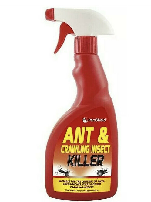 PestShield 500ml Ant & Crawling Insect Killer Spray