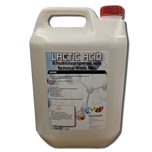Lactic Acid - 2-hydroxypropanoic acid - Technical Grade
