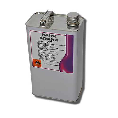 Mastic & Silicon Remover, solvent cleaner