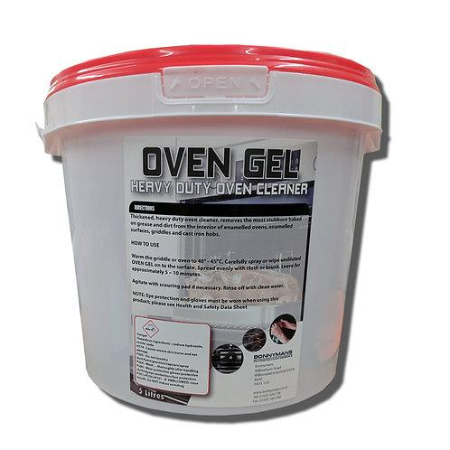 Oven Gel - Oven-Griddle Cleaner