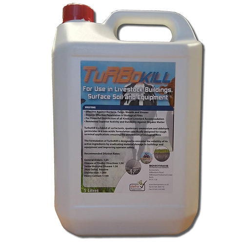 TurboKill - Terminal Disinfectant for Buildings and Equipment