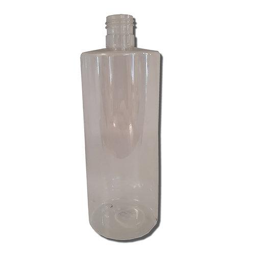 500 ml  Clear Boston Tall Bottle (24/410 mm neck)