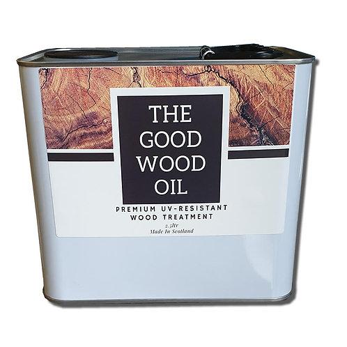 THE GOOD WOOD OIL - Premium UV-Resistant Wood Treament